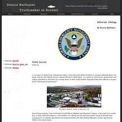 FEMA Secrets