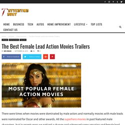 The Best Female Lead Action Movies Trailers
