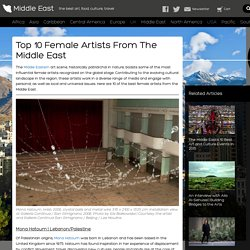 Top 10 Female Artists From The Middle East