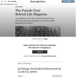 The Female Gaze Behind Life Magazine