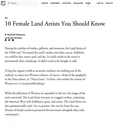 10 Female Land Artists You Should Know