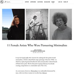 11 Female Minimalists You Should Know