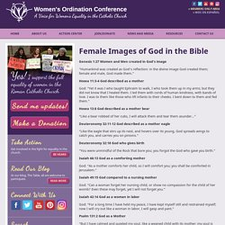Female Images of God in the Bible
