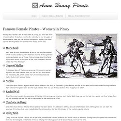 Female Pirates - Women in Piracy