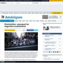 Féminicides: pourquoi les Argentins manifestent