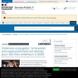 Féminicides -Violences conjugales: déploiement des premiers bracelets anti-rapprochement