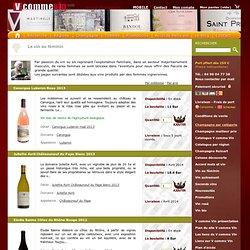 Vin au féminin Femmes du vin Femme vigneronne Le vin au feminin