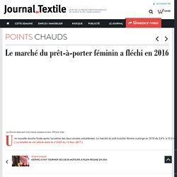 Le marché du prêt-à-porter féminin a fléchi en 2016 - journaldutextile.com