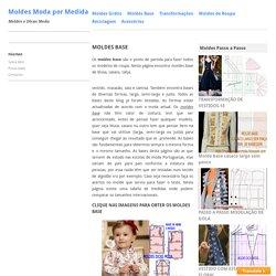 Moldes base de roupa feminina e masculina para imprimir grátis