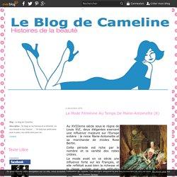 La mode féminine au temps de Marie-Antoinette (8) - Le blog de Cameline