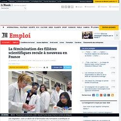 La féminisation des filières scientifiques recule à nouveau en France