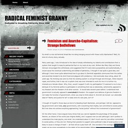Feminism and Anarcho-Capitalism: Strange Bedfellows
