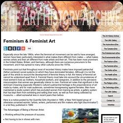 Feminism & Feminist Art - The Feminist Art History Archive