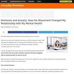 Feminism and Anxiety: How the Movement Changed My Relationship with My Mental Health