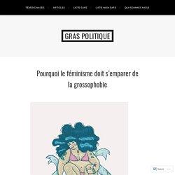 Pourquoi le féminisme doit s'emparer de la grossophobie – Gras Politique
