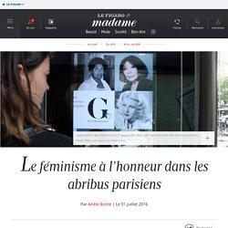 Le féminisme à l'honneur dans les abribus parisiens