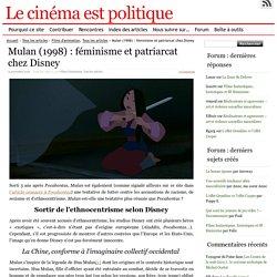 Mulan (1998) : féminisme et patriarcat chez Disney