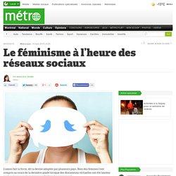 Le féminisme à l'heure des réseaux sociaux