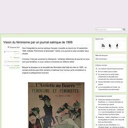 Vision du féminisme par un journal satirique de 1909