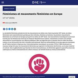 Féminismes et mouvements féministes en Europe