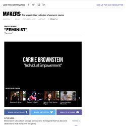"""Feminist"" - Carrie Brownstein MAKERS Moment"