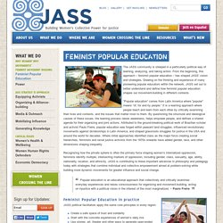 Feminist Popular Education