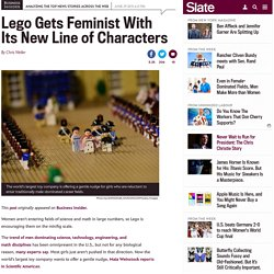 Lego: Toy maker puts feminist message in new line of characters