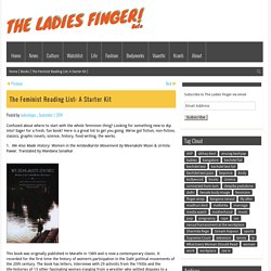The Feminist Reading List: A Starter Kit