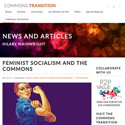 Feminist Socialism and the Commons