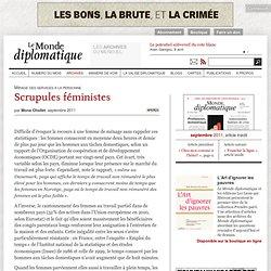 Scrupules féministes, par Mona Chollet