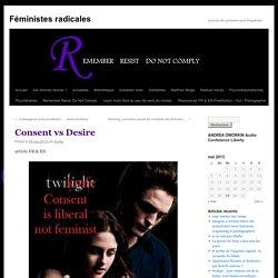 Consent vs Desire