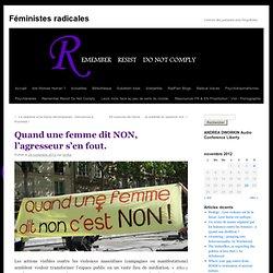 Féministes radicalesFéministes radicales