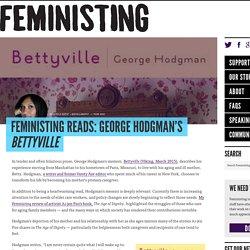 Reads: George Hodgman's Bettyville