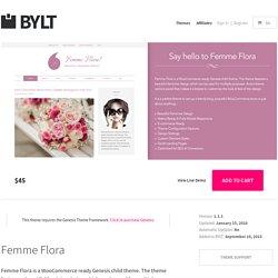 Feminine WordPress theme - Bylt genesis theme