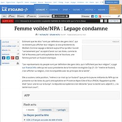 Lepage condamne