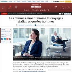 Les femmes aiment moins les voyages d'affaires que les hommes