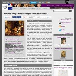 Femmes d'Alger dans leur appartement de Delacroix
