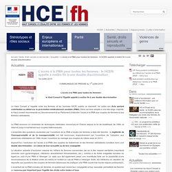 L'accès à la PMA pour toutes les femmes : le HCEfh appelle à mettre fin à une double discrimination