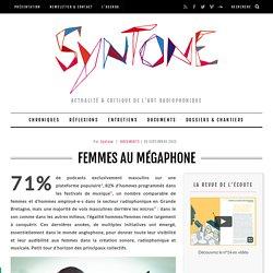 Femmes au mégaphone