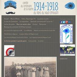 les femmes pendant la grande guerre - Site du centenaire 14-18 en Haut Limousin
