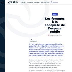 Les femmes à la conquête de l'espace public