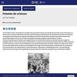 Femmes de sciences
