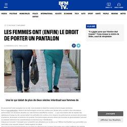 Les femmes ont (enfin) le droit de porter un pantalon