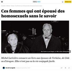 Ces femmes qui ont épousé des homosexuels sans le savoir