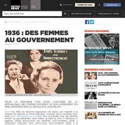 1936 : des femmes au gouvernement - Presse RetroNews-BnF