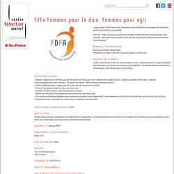 FDFA Femmes pour le Dire, Femmes pour Agir
