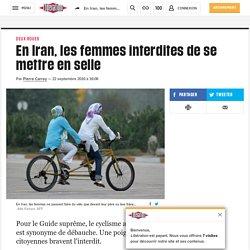 En Iran, les femmes interdites de se mettre en selle
