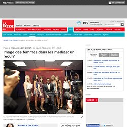 Image des femmes dans les médias: un recul?