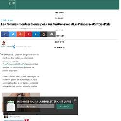 Les femmes montrent leurs poils sur Twitter avec #LesPrincessesOntDesPoils