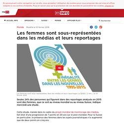 Les femmes sont sous-représentées dans les médias et leurs reportages - rts.ch - Monde
